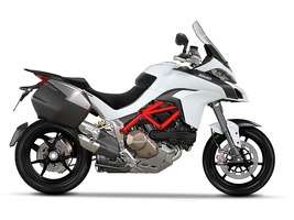 2015 Ducati Multistrada 1200 S Iceberg White Touring, motorcycle listing