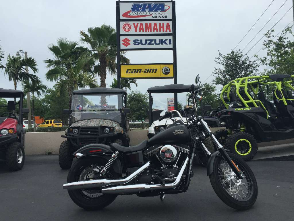 2015 harley davidson street bob motorcycle from miami fl for Harley davidson motor credit