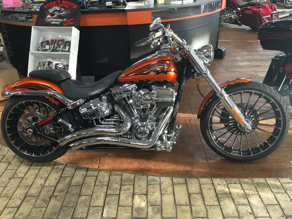 Harley Breakout Cvo >> 2014 Harley Davidson Cvo Breakout Motorcycle From Marion Il