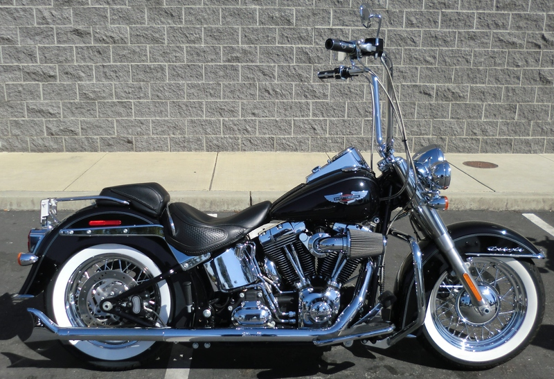 2014 Harley-Davidson FLSTN - Softail Deluxe Motorcycle From