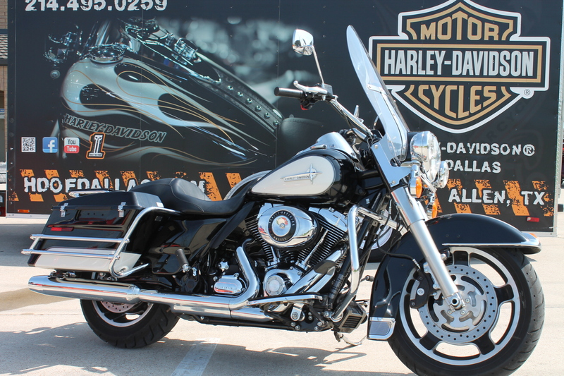 2013 Harley-Davidson FLHP - Road King Police Motorcycle From