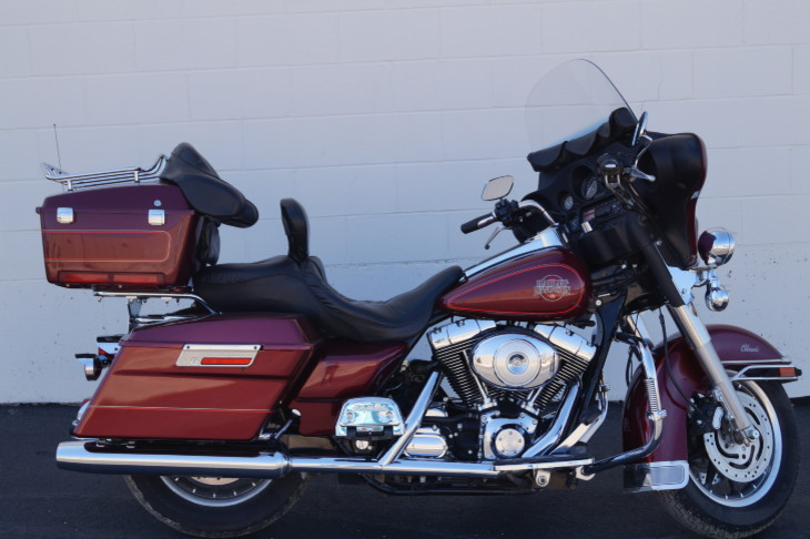 2002 Harley-Davidson Electra Glide Classic, motorcycle listing
