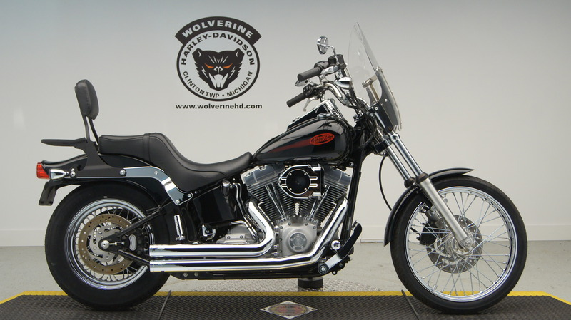 2002 Harley-Davidson Softail FXST, motorcycle listing