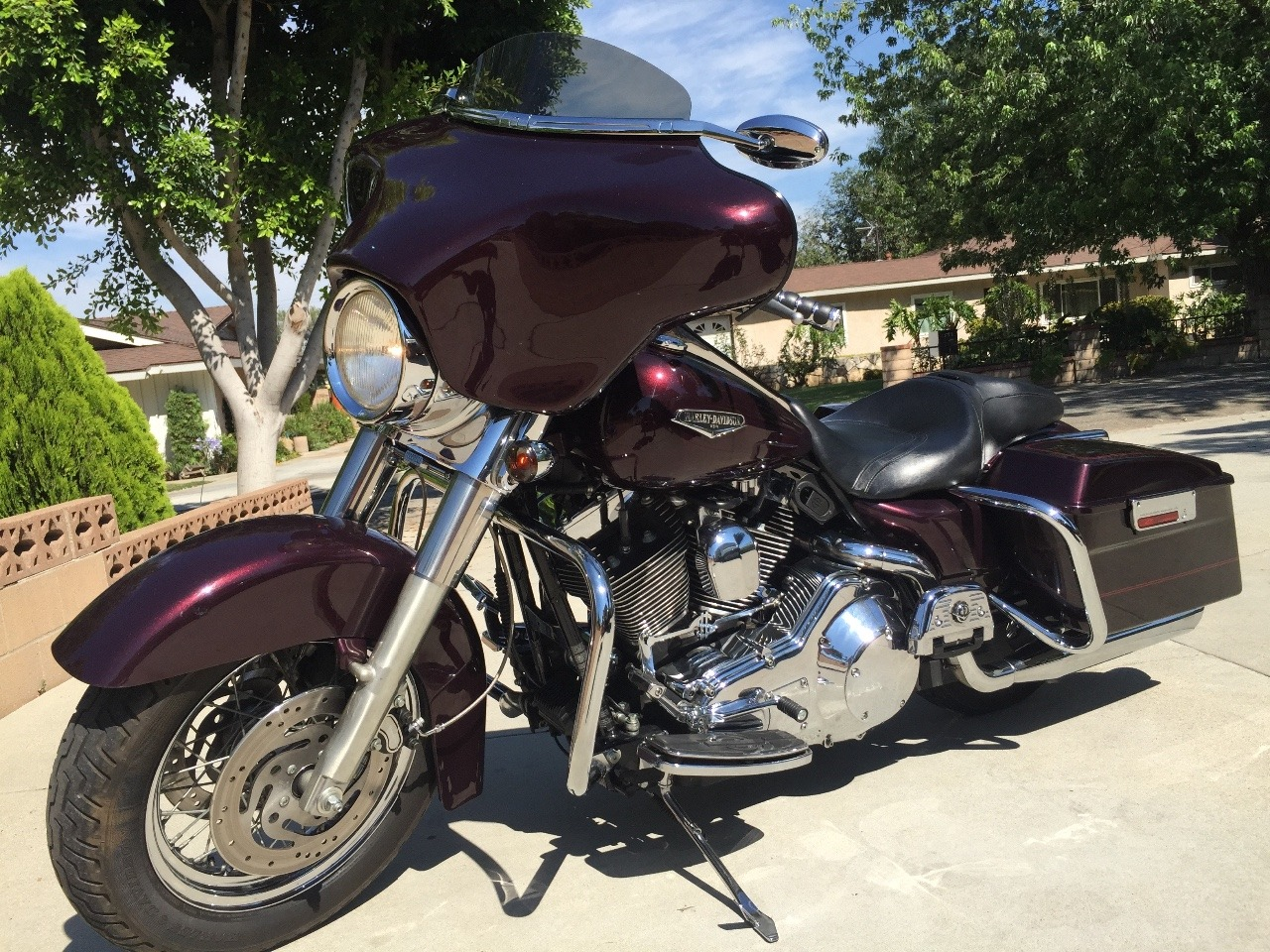 2000 Harley-Davidson Road King CUSTOM, motorcycle listing