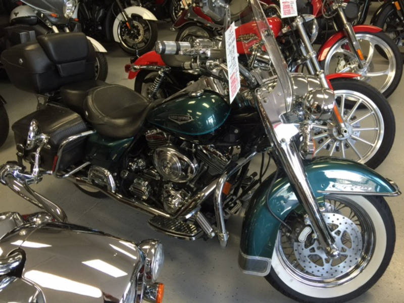 2000 Harley-Davidson Road King, motorcycle listing