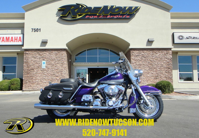 2001 Harley-Davidson FLHRCI, motorcycle listing
