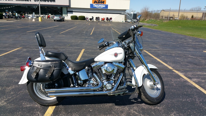 2001 Harley-Davidson FLSTF - Softail Fat Boy, motorcycle listing