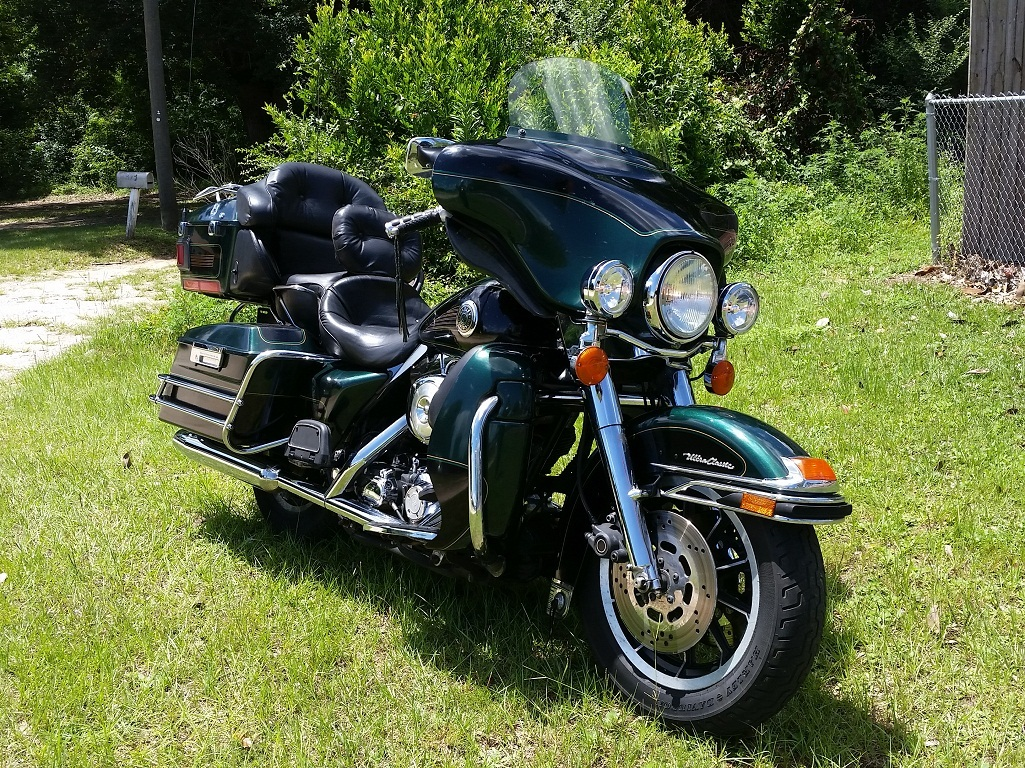 1999 Harley-Davidson ELECTRA GLIDE ULTRA CLASSIC, motorcycle listing