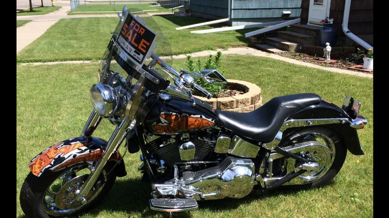 1999 Harley-Davidson Fat Boy , motorcycle listing