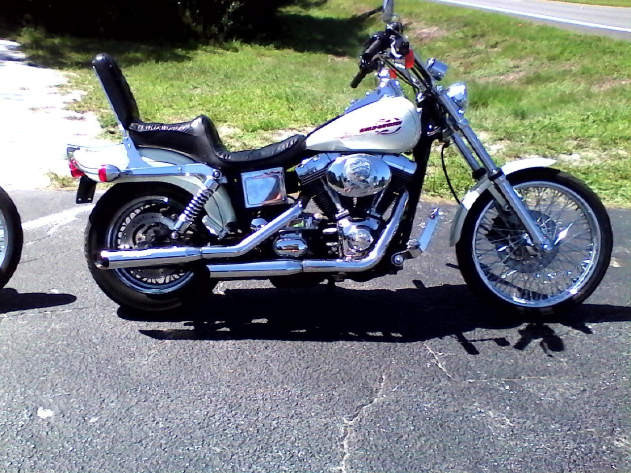 2000 Harely WIDE GLIDE, motorcycle listing