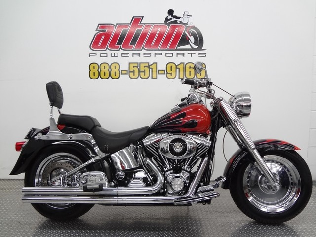 2000 Harley Davidson Fat Boy, motorcycle listing