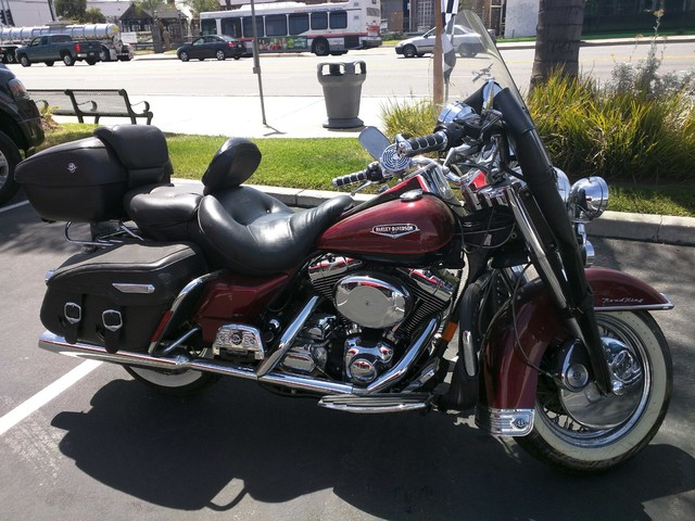 2000 Harley Davidson Road King, motorcycle listing