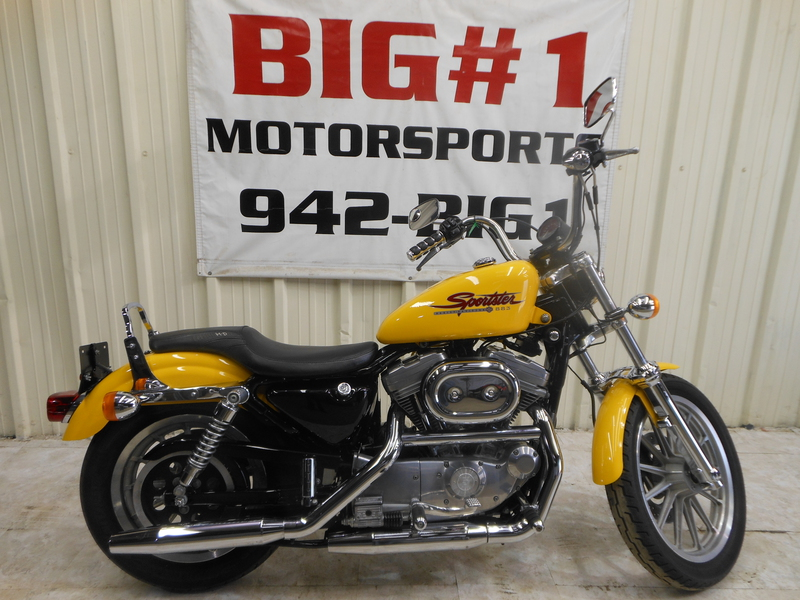 2000 Harley Davidson XL883 Sportster, motorcycle listing