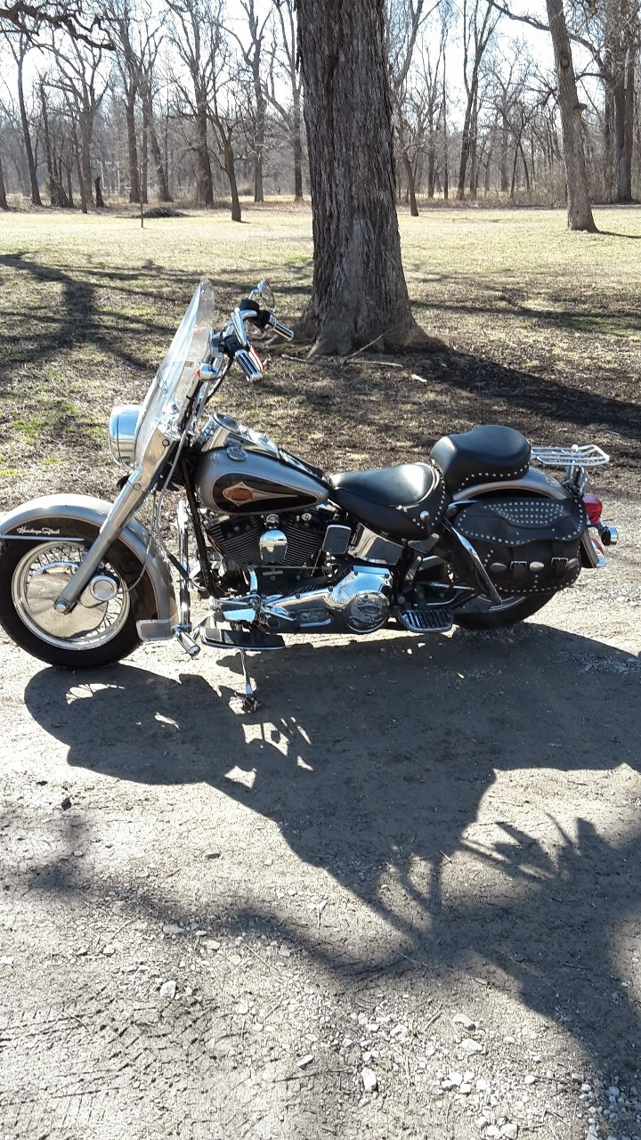 1997 Harley-Davidson Heritage Softail CLASSIC, motorcycle listing