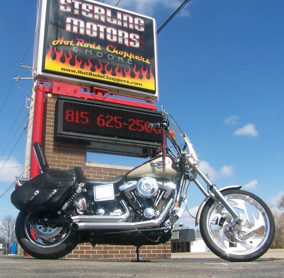 1998 Harley-Davidson 95th Anniversary FXDWG Custom, motorcycle listing