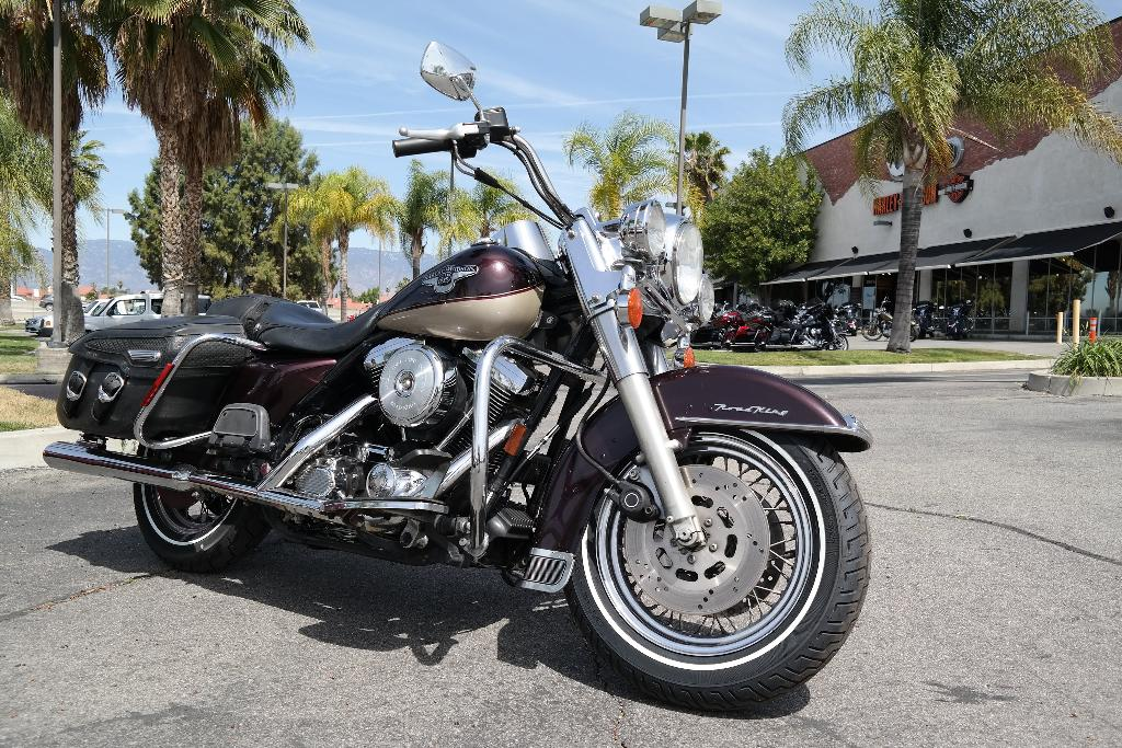 1998 Harley-Davidson FLHRC, motorcycle listing