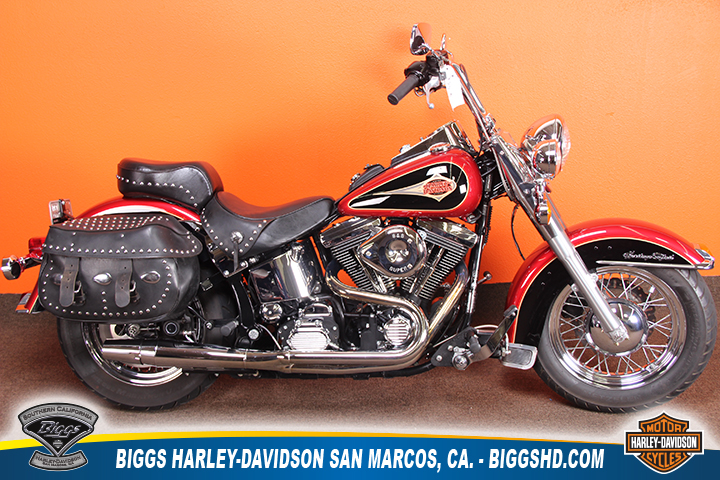 1998 Harley-Davidson FLSTC - Softail Heritage Class, motorcycle listing