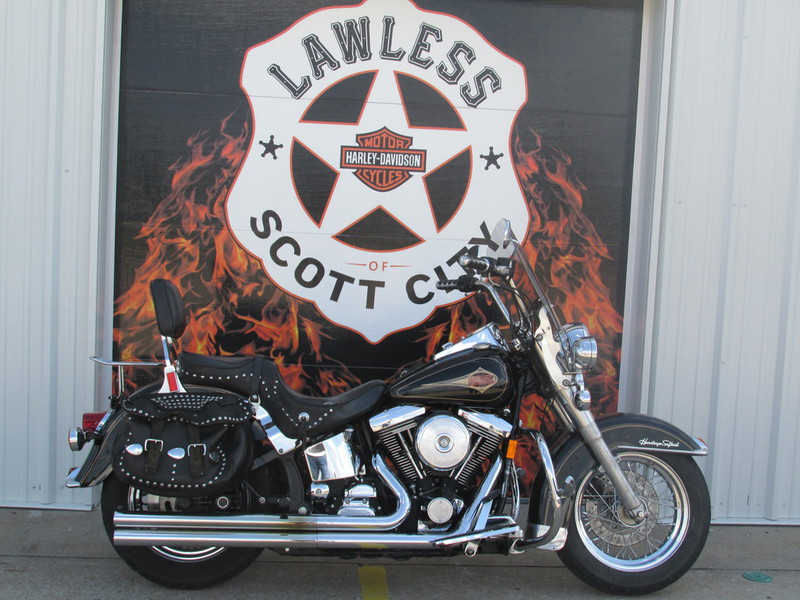 1998 Harley-Davidson FLSTC-HERTIAGE SOFTAIL CLASSIC, motorcycle listing