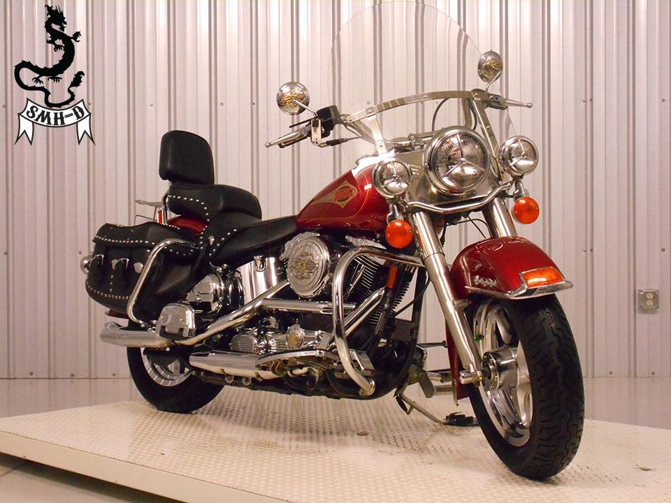 1998 Harley-Davidson FLSTC-Heritage Softail Classic, motorcycle listing