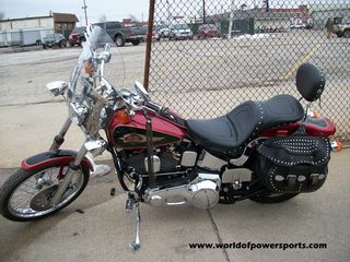 1998 Harley-Davidson FXSTC, motorcycle listing