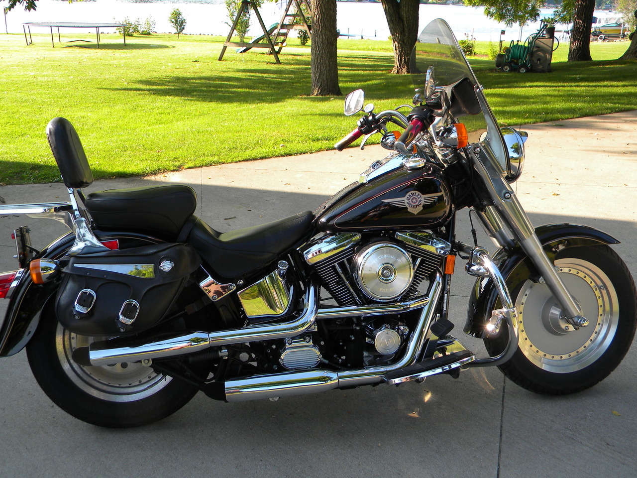 1998 Harley-Davidson Fat Boy , motorcycle listing