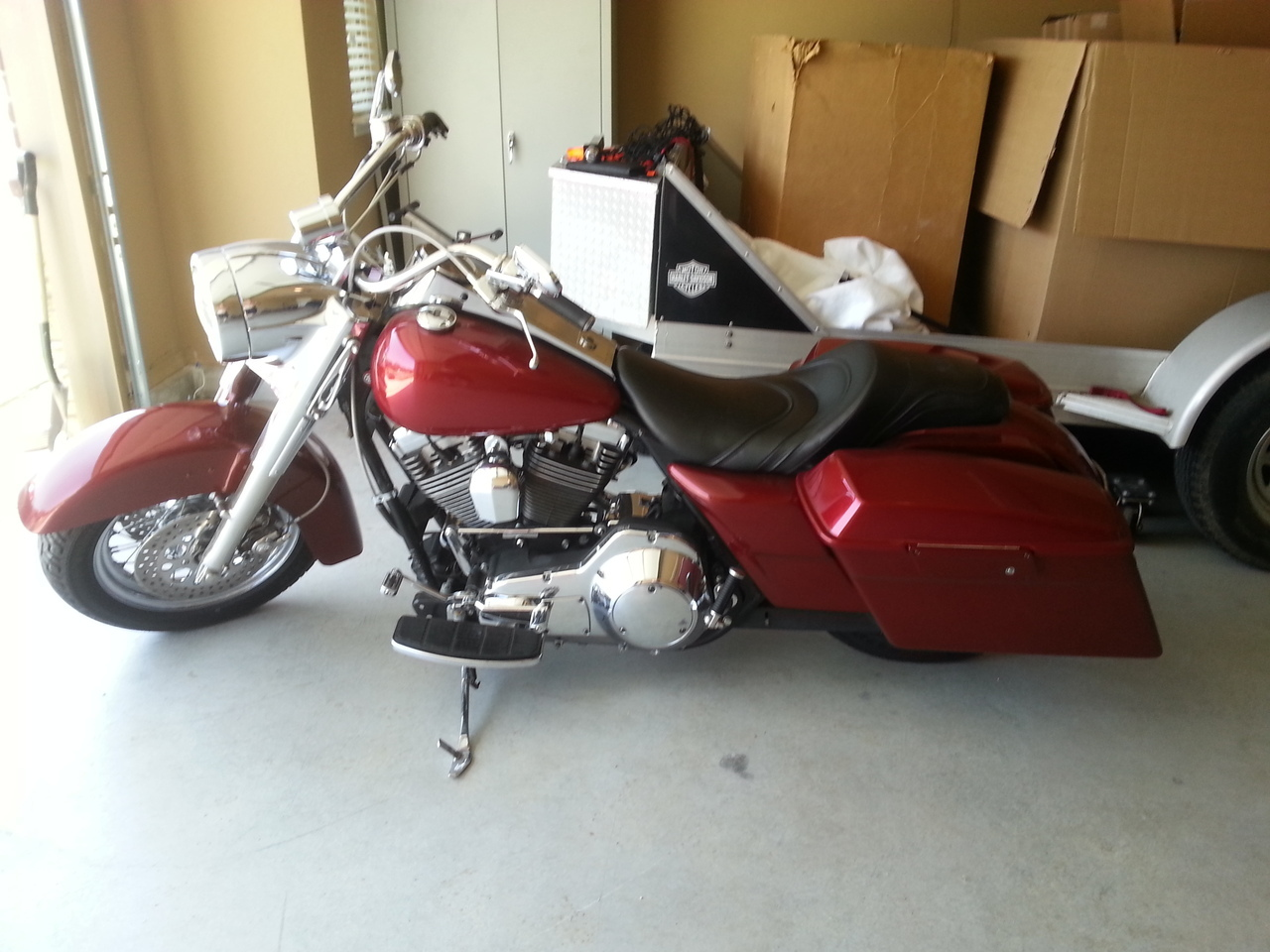 1998 Harley-Davidson Road King , motorcycle listing
