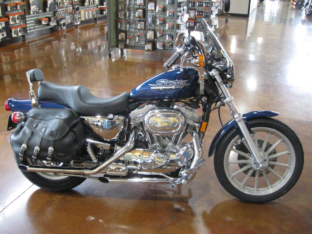 1998 Harley-Davidson XLH 883 Sportster, motorcycle listing