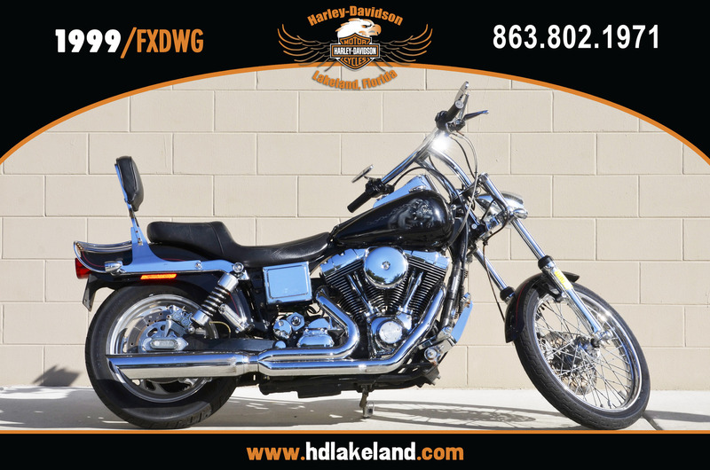 1999 Harley-Davidson FXDWG - Dyna Wide Glide, motorcycle listing