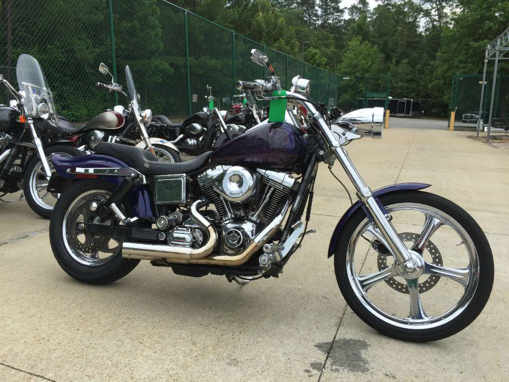 1999 Harley-Davidson FXDWG Dyna Wide Glide, motorcycle listing