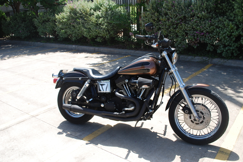 1999 Harley Davidson FXDX, motorcycle listing