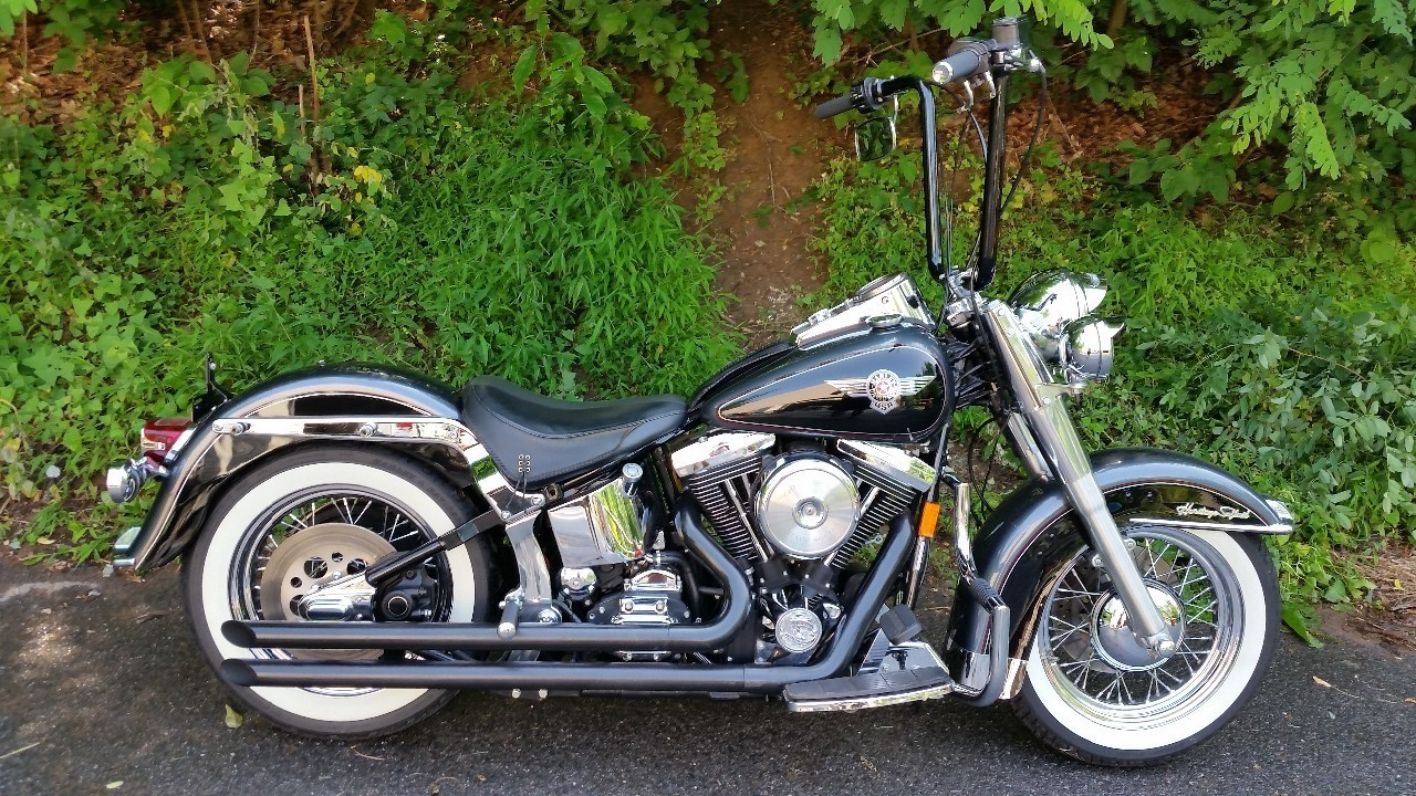 1995 Harley-Davidson Heritage Softail , motorcycle listing