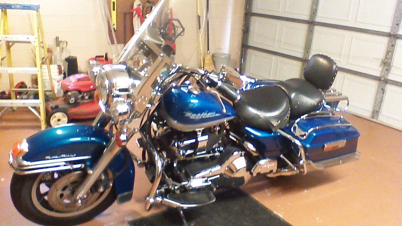 1995 Harley-Davidson Road King CLASSIC, motorcycle listing