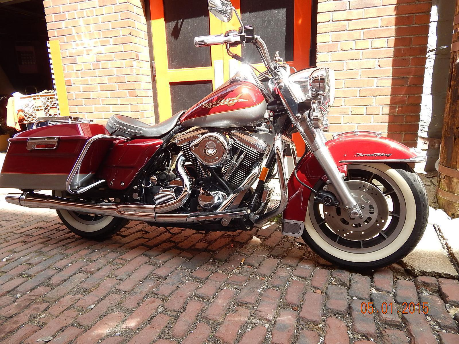 1996 Harley-Davidson Road King, motorcycle listing