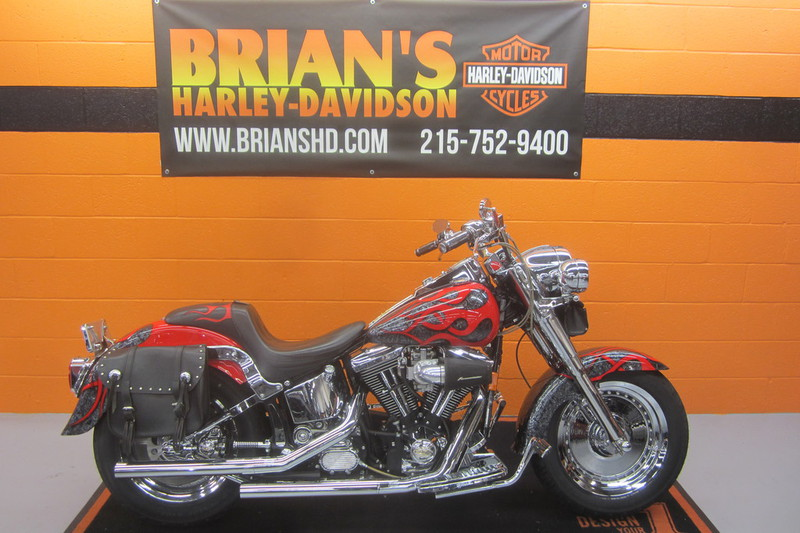 1998 Harley-Davidson FLSTF - Softail Fat Boy, motorcycle listing