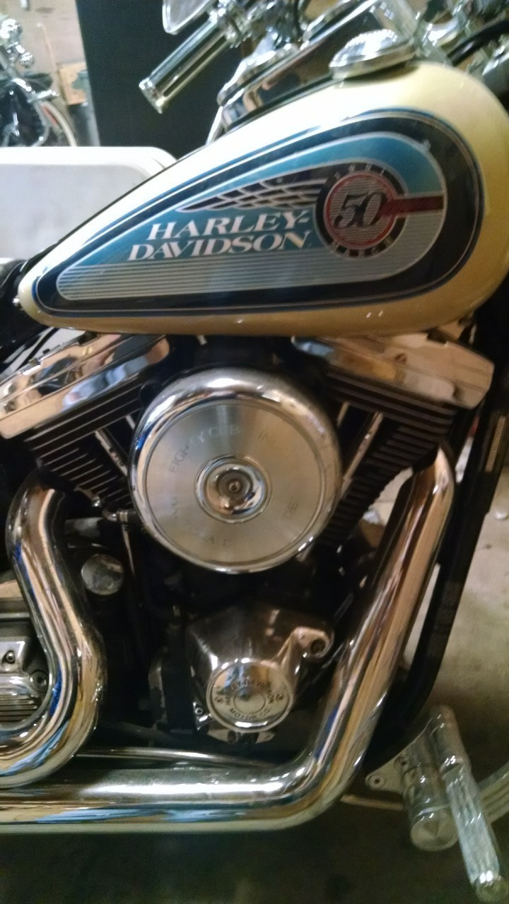 1992 Harley-Davidson Dyna , motorcycle listing