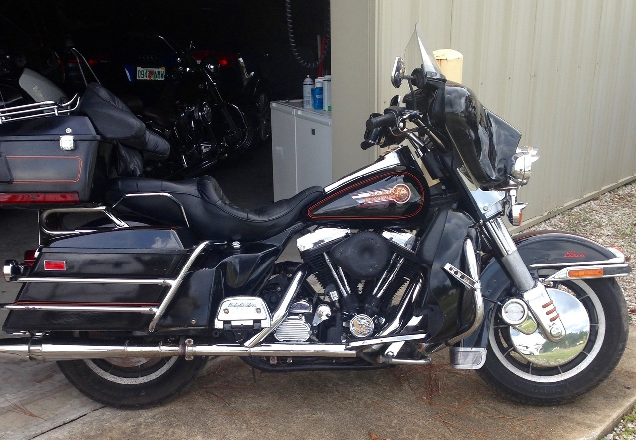 1992 Harley-Davidson Electra Glide ULTRA CLASSIC, motorcycle listing