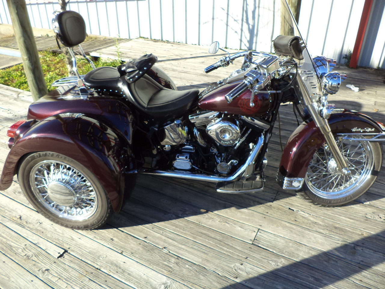 1992 Harley Davidson FLSTC HERITAGE SOFTAIL CLASSIC, motorcycle listing