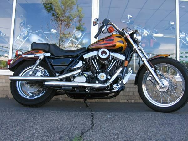 1992 Harley-Davidson FXRS Lowrider, motorcycle listing