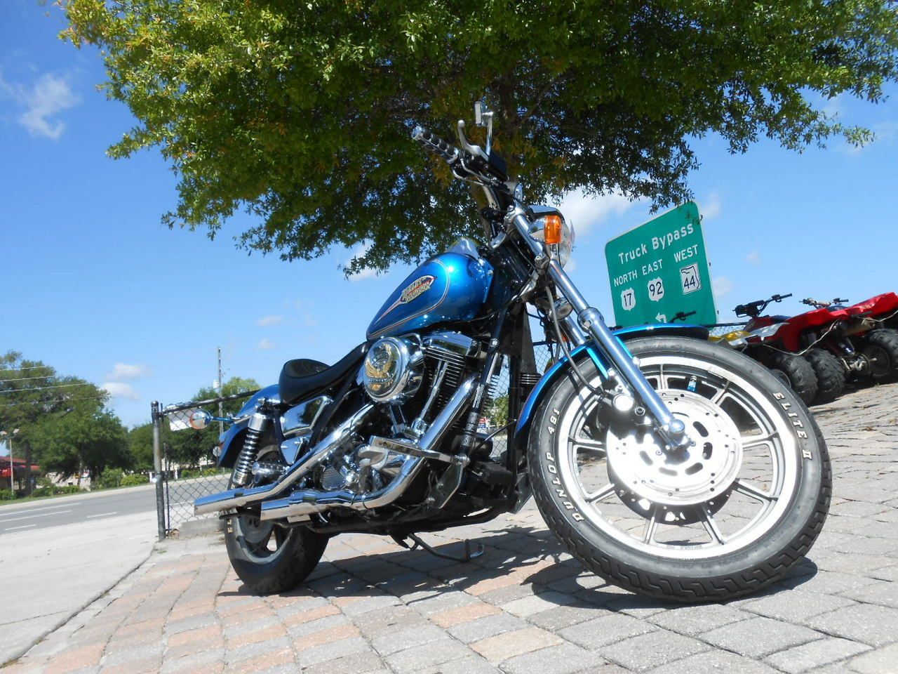 1993 Harley-Davidson DYNA LOW RIDER FXDL, motorcycle listing