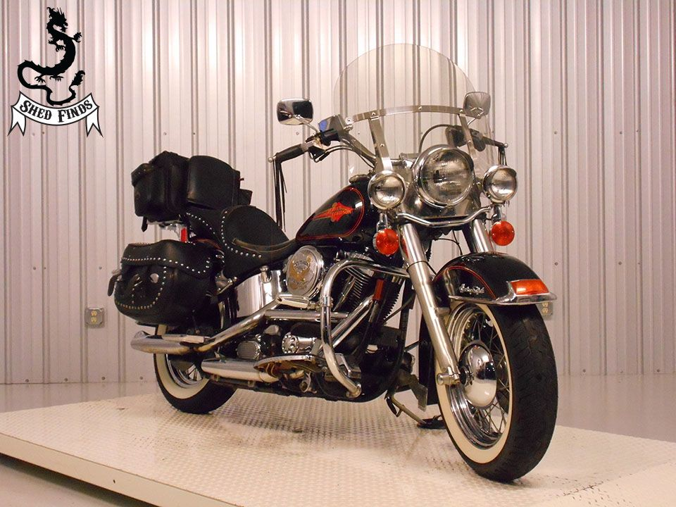 1993 Harley-Davidson FLSTC-Heritage Softail Classic, motorcycle listing