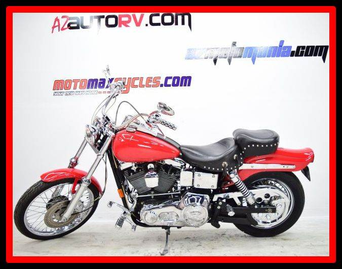 1993 Harley-Davidson FXDWG Dyna Wide Glide, motorcycle listing