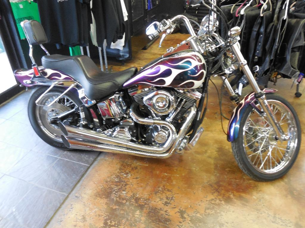 1993 Harley-Davidson FXSTC, motorcycle listing