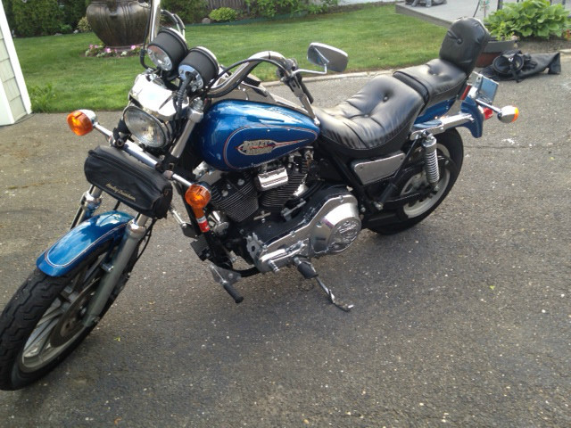 1993 Harley-Davidson Low Rider , motorcycle listing