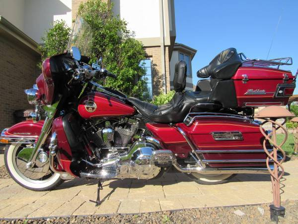 1994 Harley Davidson ELECTRA GLIDE ULTRA CLASSIC, motorcycle listing