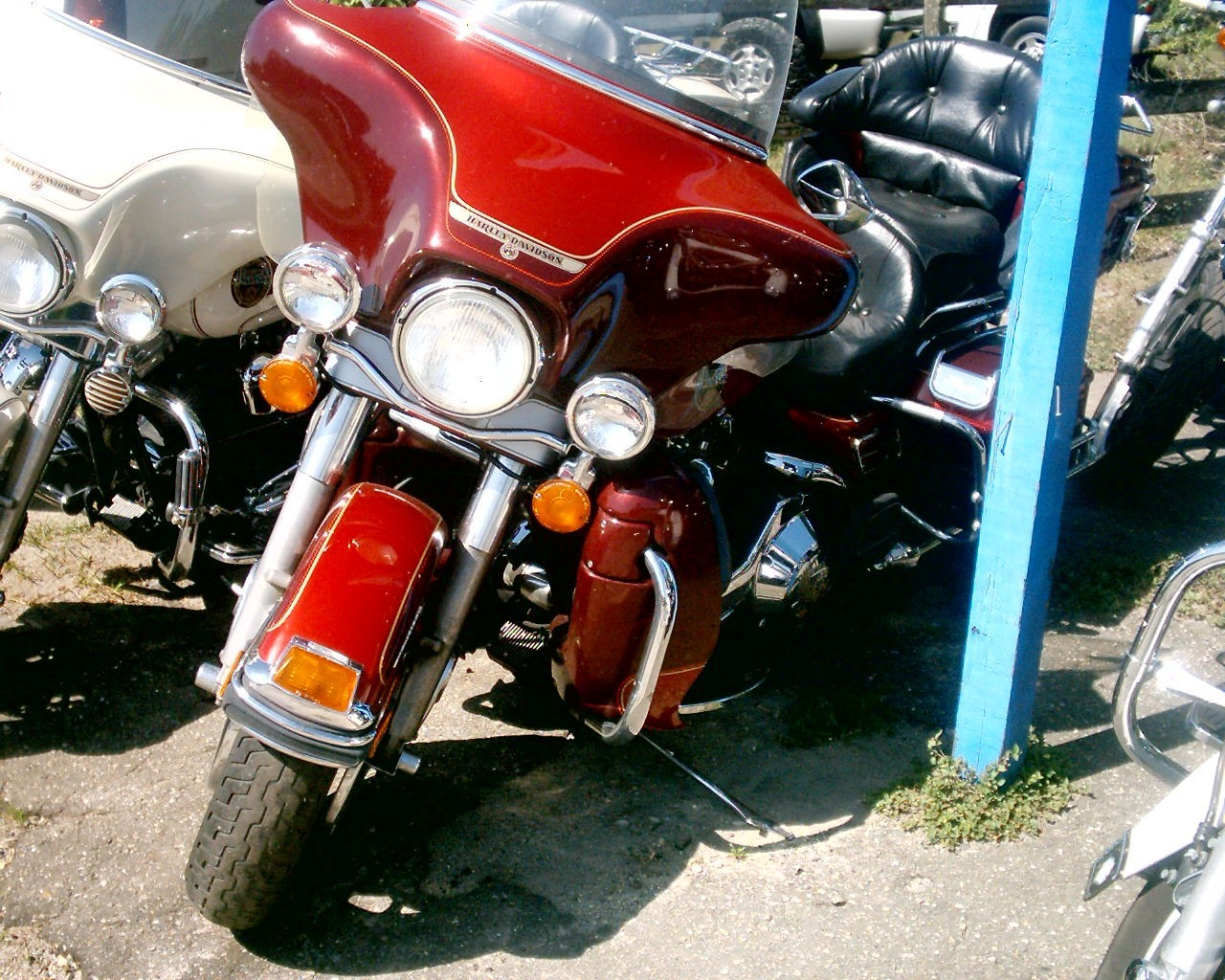 1994 Harley-Davidson FLHTCU ELECTRIC GLIDE, motorcycle listing