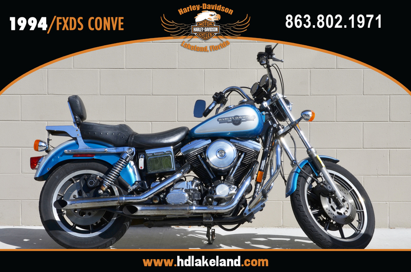 1994 Harley-Davidson FXDS CONVE, motorcycle listing
