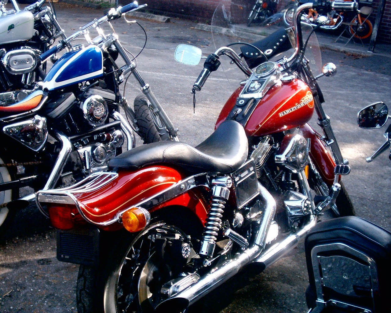 1994 Harley-Davidson FXDWG DYNA WIDE GLIDE, motorcycle listing