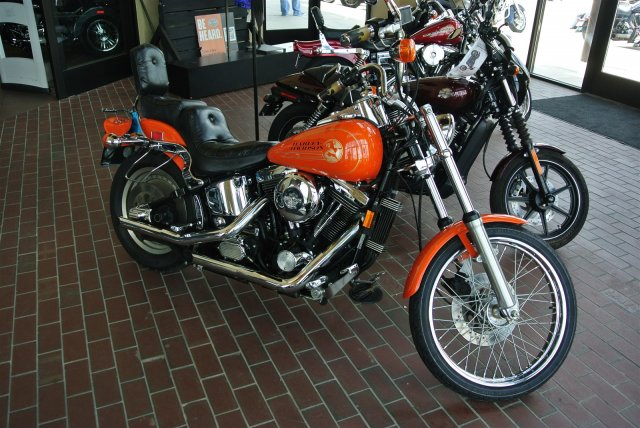 1994 Harley Davidson FXSTC, motorcycle listing