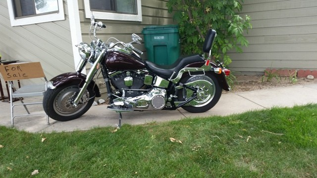 1994 Harley-Davidson Fat Boy , motorcycle listing