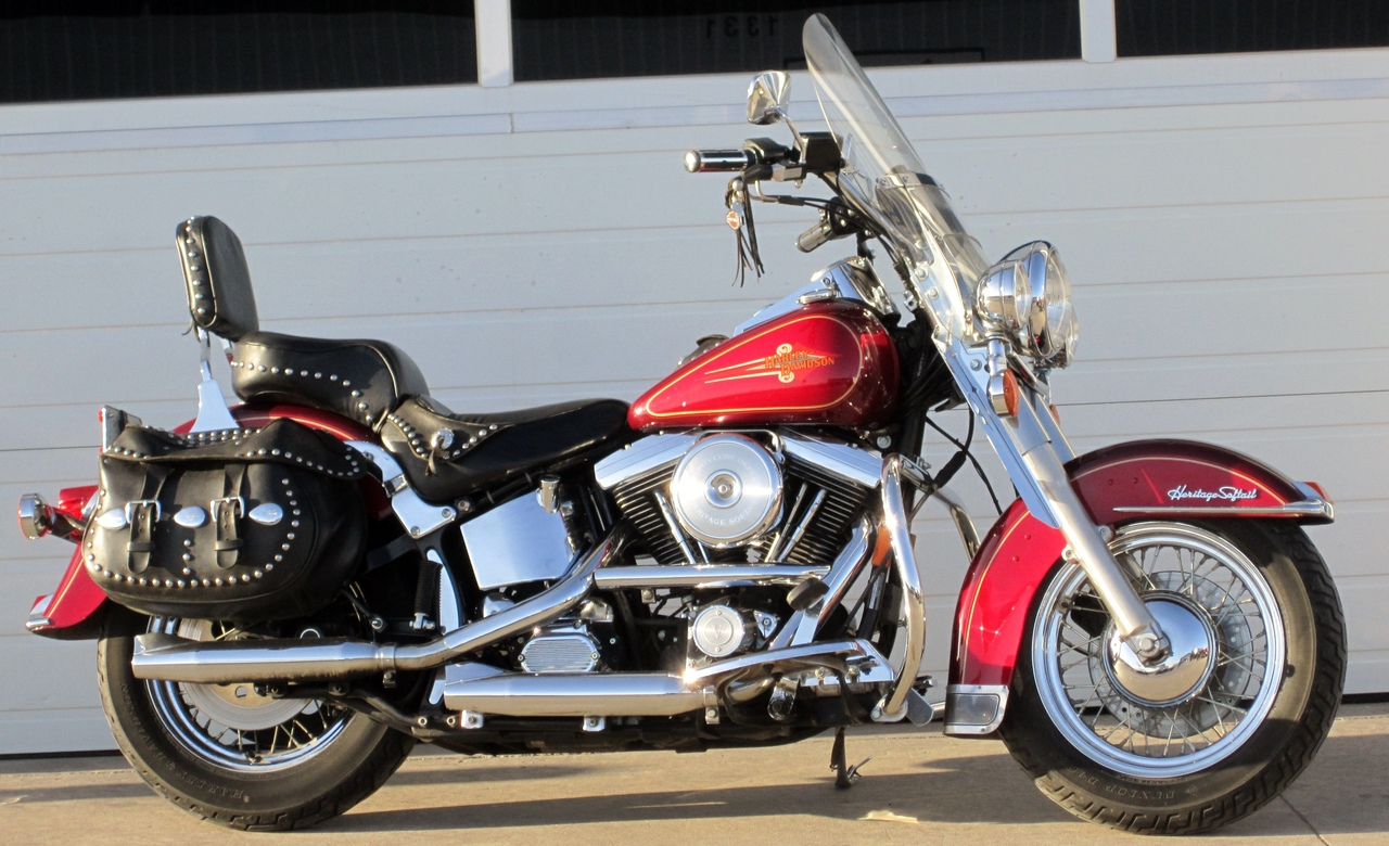 1994 Harley-Davidson HERITAGE SOFTAIL, motorcycle listing